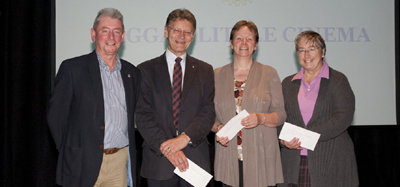 Cheque presentations Monday 31st October 2011
